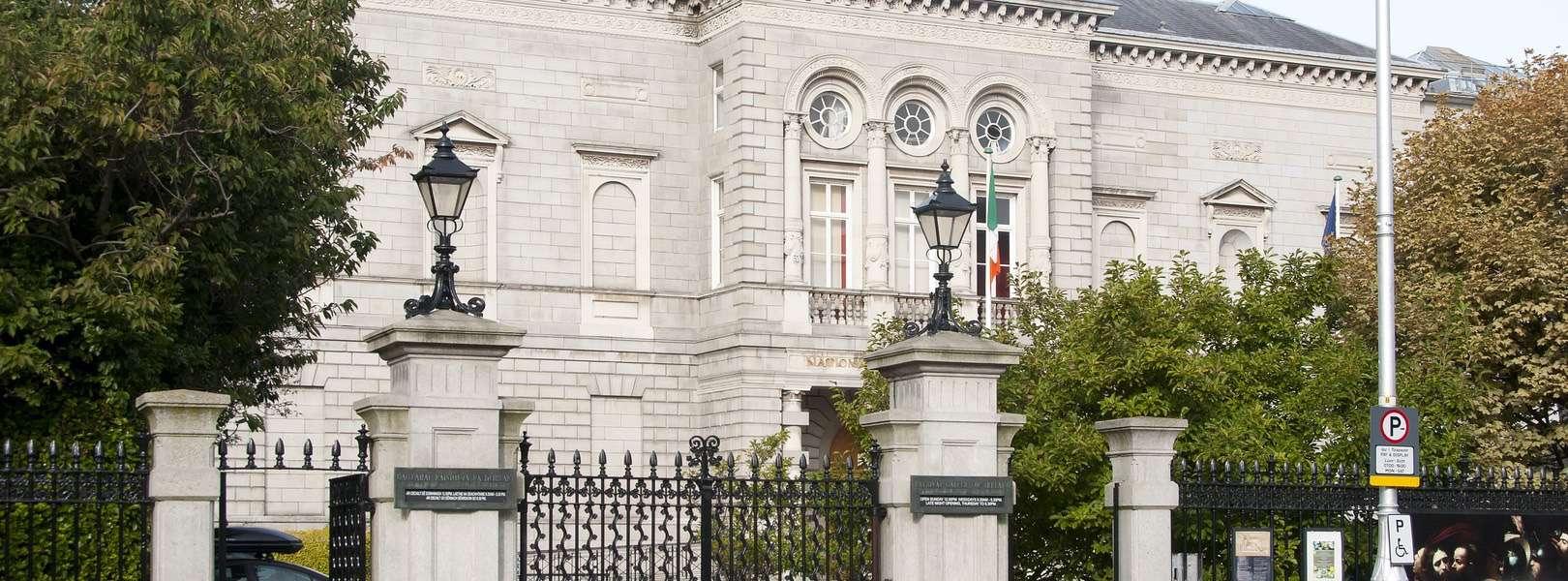 Blick auf das Nationale Museum of Ireland von außen