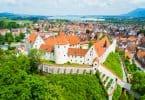 Blick auf das Hohen Schloss Füssen