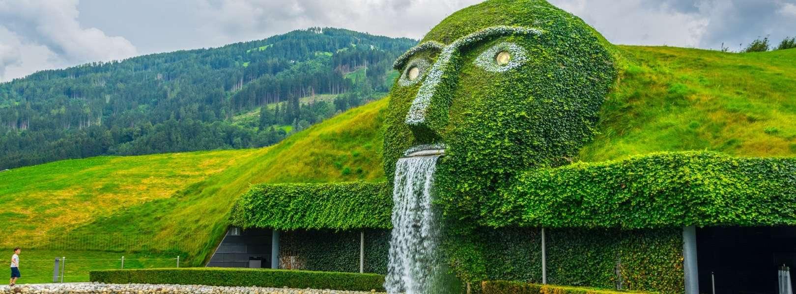 Swarovski Kristallwelten in Wattens mitten in Österreich