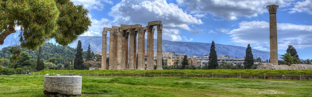 Den Göttern so nah: Zeus Tempel in Athen