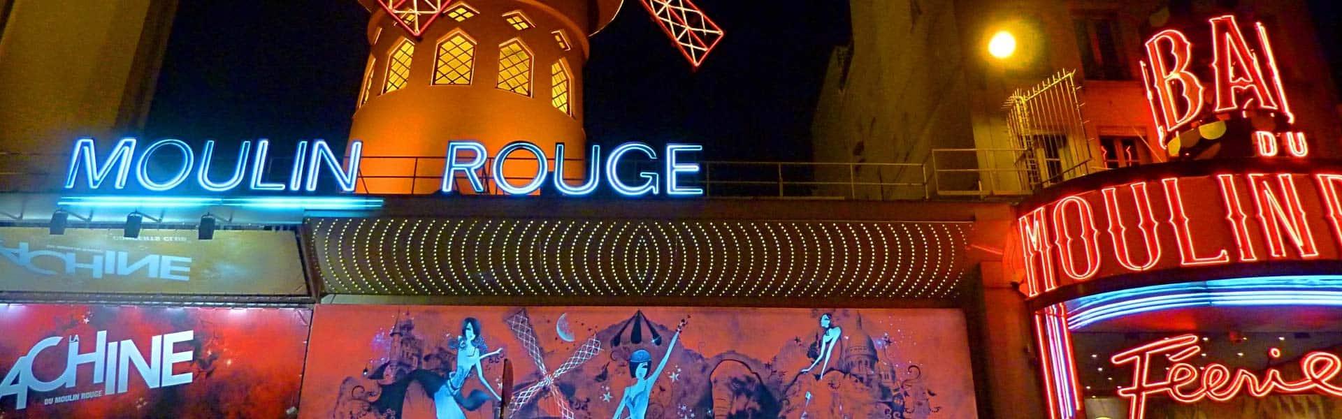Oh la la – hier tanzen die Puppen: Erleben Sie einen ausgelassenen Abend im Moulin Rouge in Paris