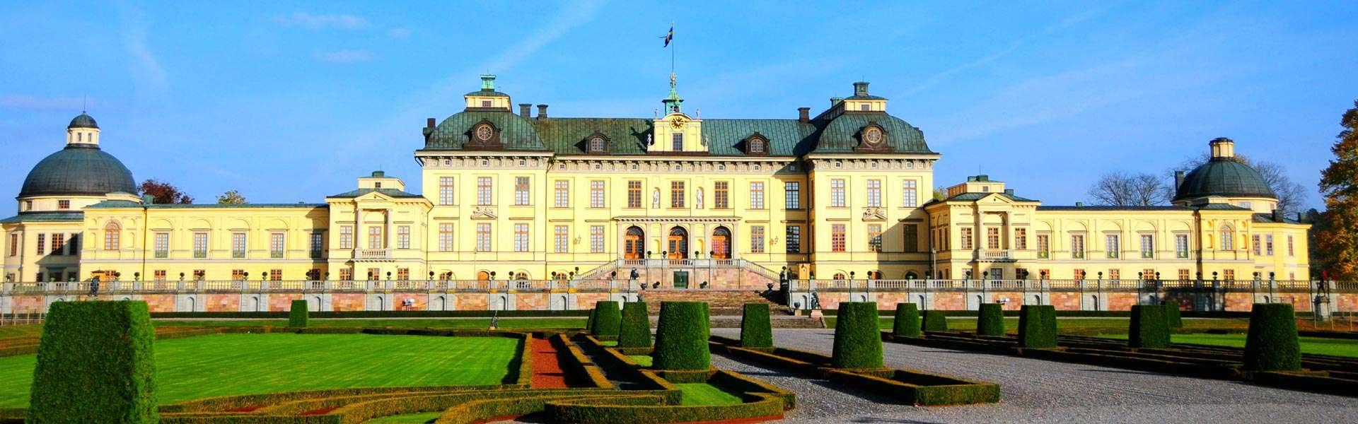 Lustschloss und Museum: Erleben Sie das Traumschloss Drottningholm in Stockholm