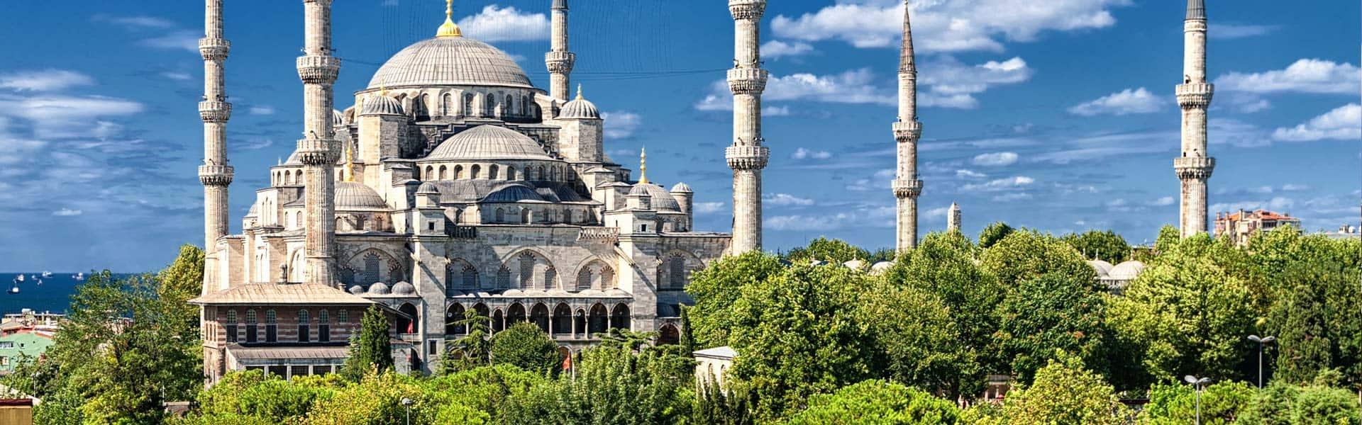 Atemberaubend: die Istanbul Blaue Moschee in Istanbul