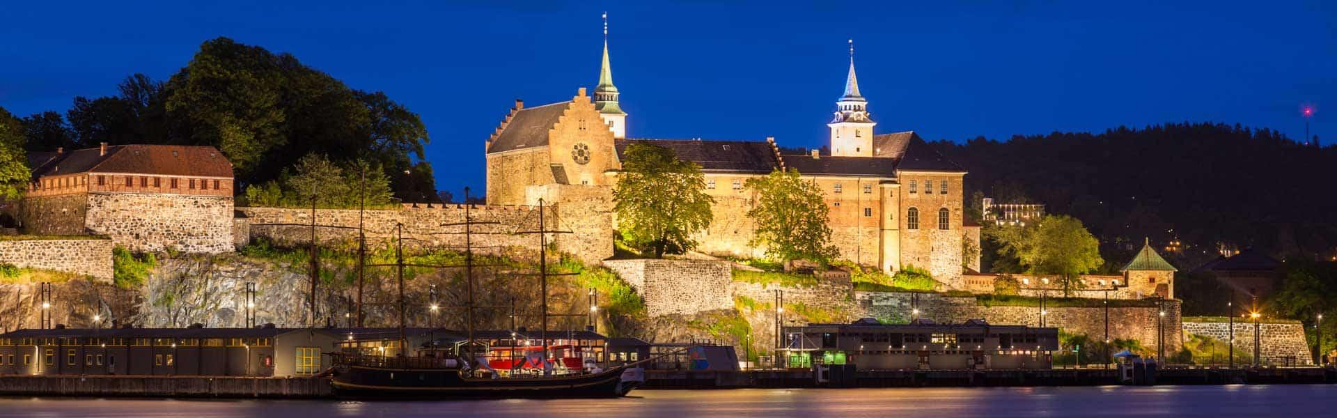 Make trips, not war: besuchen Sie die Festung Akershus im Norwegischen Oslo.