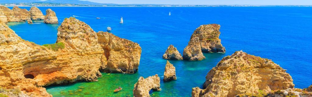 Versteckte Strände und Buchten – willkommen in Ponta da Piedade, an der Algarve