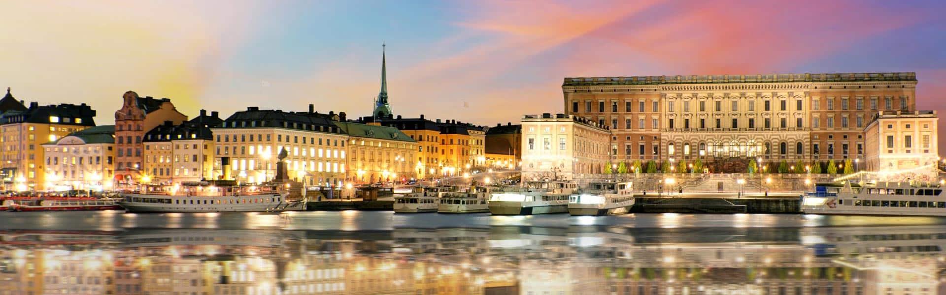 Königlich staunen: Besuchen Sie das Königshaus Stockholm in Schweden