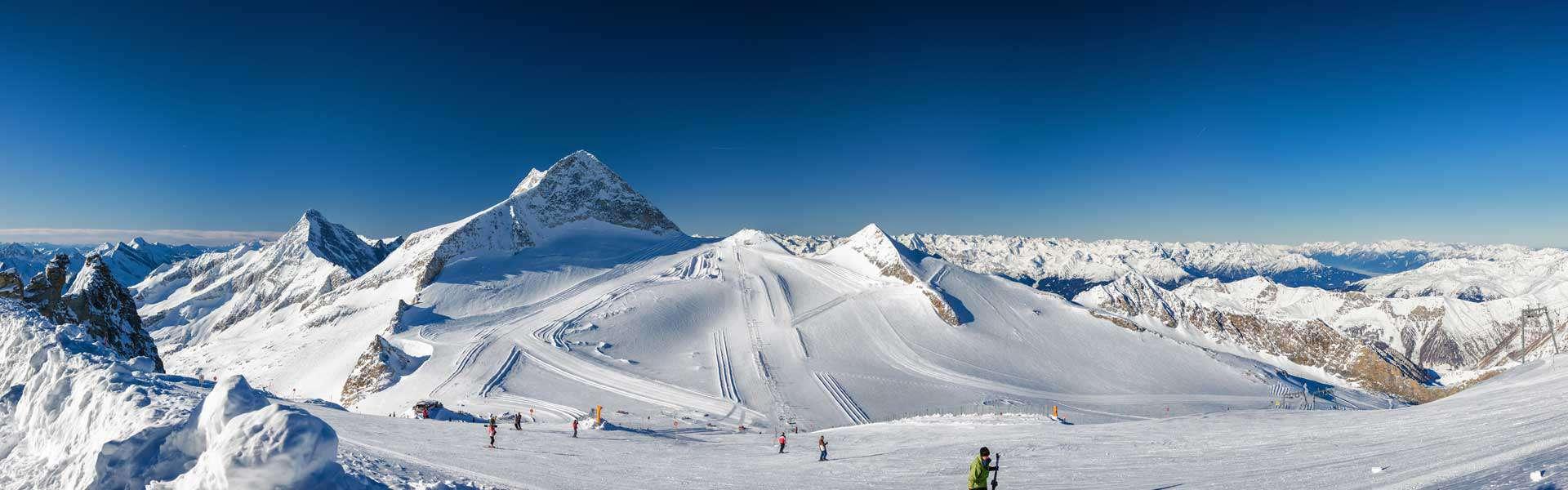 Hintertuxer Gletscher im Zillertal in Tirol