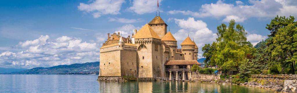 Atemberaubend schön: das Chateau de Chillon am Genfer See