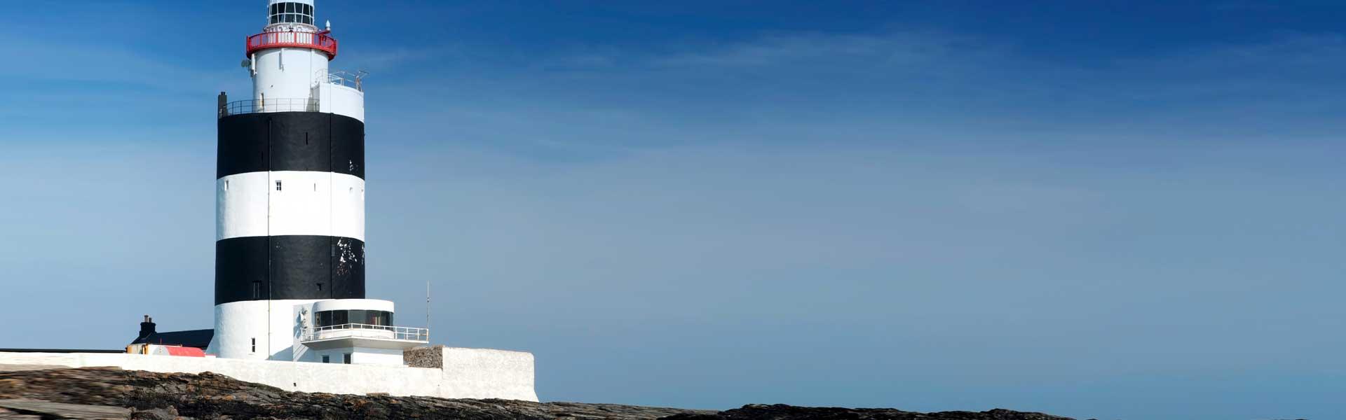 Besuchen Sie das beeindruckende Ostufer des Waterford Harbour – bestaunen Sie die Insel Hook Head