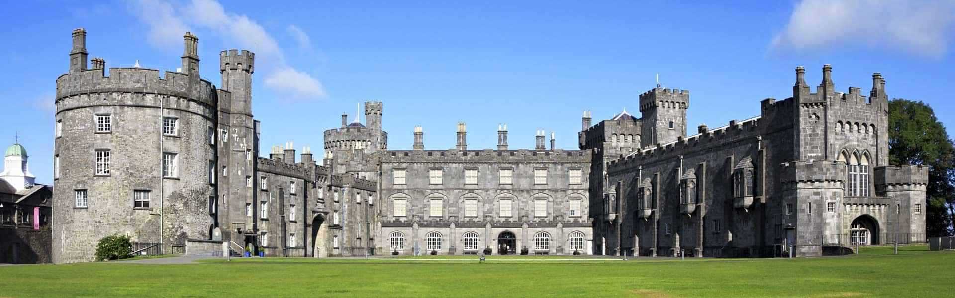 Besuchen Sie Irland: zum Beispiel das Kilkenny Castle