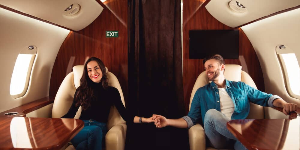 Luxus statt Holzklasse - was es kostet einen Privatjet zu mieten